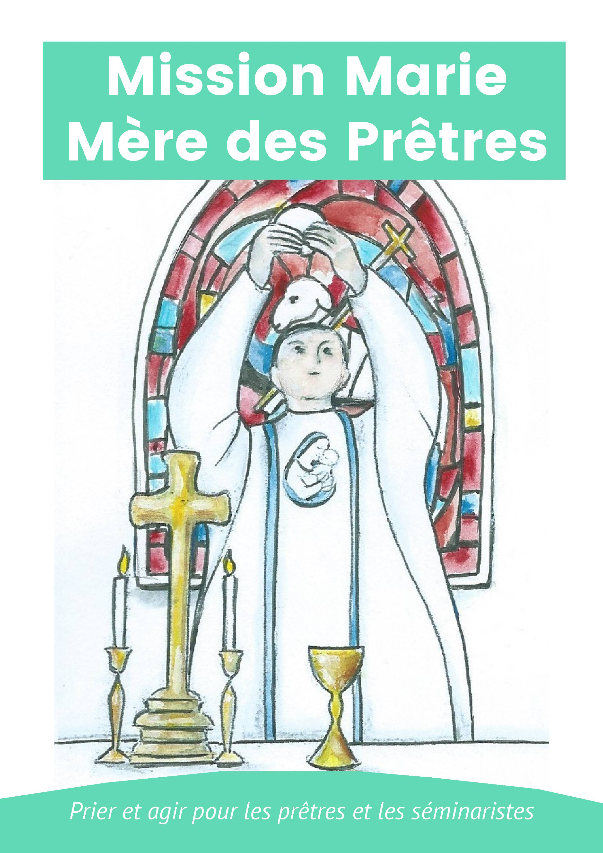 carte prière recto